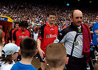 Fotball<br /> England 2004/2005<br /> Foto: SBI/Digitalsport<br /> NORWAY ONLY<br /> <br /> Lucas Radebe Testimonial, Leeds United XI v International XI, 02/05/2005.<br /> <br /> Eirik Bakke takes part in the game.
