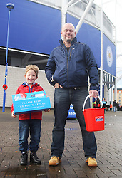General view of Poppy sellers as part of the Remembrance Day events  - Mandatory byline: Jack Phillips/JMP - 07966386802 - 7/11/2015 - SPORT - FOOTBALL - Leicester - King Power Stadium - Leicester City v Watford - Barclays Premier League