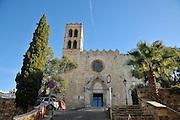 Chapel of Les Alegries, Lloret de Mar, Costa Brava, Spain