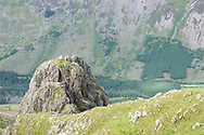 Pillar Rock's south face still stands proud, if rather less imposing than its North face!