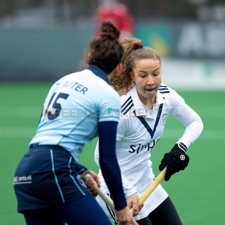LAREN -  Hockey Hoofdklasse Dames: Laren v Pinoké, seizoen 2020-2021. Foto: Anne Boer (Pinoké)
