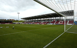 Sixfields Stadium home of Northampton Town - Mandatory by-line: Robbie Stephenson/JMP - 07/10/2017 - FOOTBALL - Sixfields Stadium - Northampton, England - Northampton Town v Bristol Rovers - Sky Bet League One