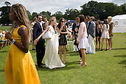 CHLOE DELAVIGNE, 2008 Veuve Clicquot Gold Cup Polo final at Cowdray Park. Midhurst. 20 July 2008 *** Local Caption *** -DO NOT ARCHIVE-© Copyright Photograph by Dafydd Jones. 248 Clapham Rd. London SW9 0PZ. Tel 0207 820 0771. www.dafjones.com.