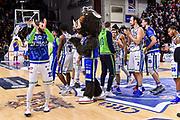 Team Banco di Sardegna Dinamo Sassari, Sirbo Mascotte<br /> Banco di Sardegna Dinamo Sassari - Vanoli Cremona<br /> Legabasket LBA Serie A 2019-2020<br /> Sassari, 30/12/2019<br /> Foto L.Canu / Ciamillo-Castoria
