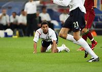 Photo: Chris Ratcliffe.<br /> England v Portugal. Quarter Finals, FIFA World Cup 2006. 01/07/2006.<br /> Aaron Lennon of England.