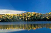 Charlotte Lake, Alberta, Canada, Autumn coloured trees