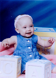 19 Jan,2006. Collect photograph.  Eminem's daughter, Hailie Jade Mathers at 6 months old. Marshall Bruce Mathers III daughter at just 6 months old. <br /> Photo Credit: Kresin via  www.varleypix.com