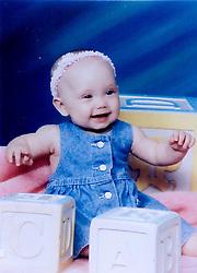 19 Jan,2006. Collect photograph.  Eminem's daughter, Hailie Jade Mathers at 6 months old. Marshall Bruce Mathers III daughter at just 6 months old. <br /> Photo Credit: Kresin via  www.varleypix.com