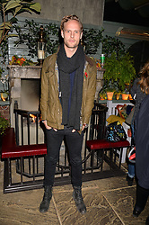 Jack Fox at The Ivy Chelsea Garden's Guy Fawkes Party, 197 King's Road, London, England. 05 November 2017.