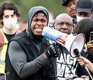 John Boyega Black Lives Matter demonstration in London