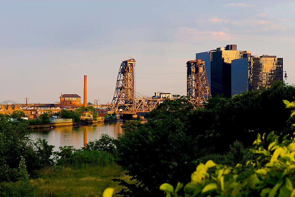 Industrial Newark NJ , landscape .