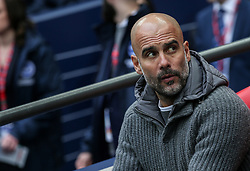 Manchester City manager Pep Guardiola - Mandatory by-line: Arron Gent/JMP - 06/04/2019 - FOOTBALL - Wembley Stadium - London, England - Manchester City v Brighton and Hove Albion - Emirates FA Cup Semi Final