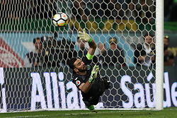 April 18, 2018 - Lisbon, Portugal - Sporting's goalkeeper Rui Patricio from Portugal in action during the Portugal Cup semifinal second leg football match Sporting CP vs FC Porto at the Alvalade stadium in Lisbon on April 18, 2018. (Credit Image: © Pedro Fiuza/NurPhoto via ZUMA Press)