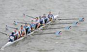 London, Great Britain.<br /> Royal Air Force, competing in the  2016 Head of the River Race, Reverse Championship Course Mortlake to Putney. River Thames. Saturday  19/03/2016<br /> <br /> [Mandatory Credit: Peter SPURRIER;Intersport images]