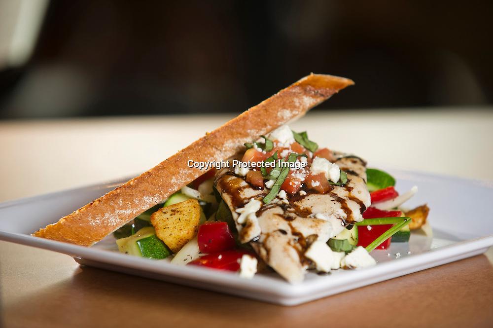 Food photography at restaurants in Northwest Arkansas.