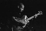 Jazz guitarist Mark Whitfield performing at Catalina Jazz Club in Hollywood, California. USA. Camera: Leica R8 / Lens: 180mm f/2.8 Elmarit-R / Film: Ilford Delta-3200 Professional
