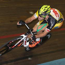 13-12-2015: Wielrennen: NK baanwielrennen: Sloten<br />AMSTERDAM (NED) baanwielrennen   <br />Op het velodrome van Sloten streden de baanwielrenners om de titel op de 50 kilometer; Melvin van Zijl