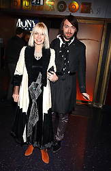 VIRGINIA BATES and JAMES LONG at the 40th birthday party and celebration of 20 years as a leading stylist of David Thomas held at Too2Much club, 11 Walkers Court, London W1 on 22nd March 2006.<br /><br />NON EXCLUSIVE - WORLD RIGHTS