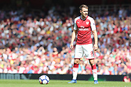 Arsenal midfielder Aaron Ramsey (8) during the Premier League match between Arsenal and West Ham United at the Emirates Stadium, London, England on 22 April 2018. Picture by Bennett Dean.