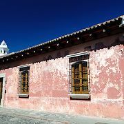 Famous for its well-preserved Spanish baroque architecture as well as a number of ruins from earthquakes, Antigua Guatemala is a UNESCO World Heritage Site and former capital of Guatemala.