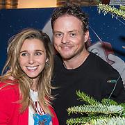 NLD/Amsterdam/20181206 - Sky Radio's Christmas Tree For Charity, Ellen Hoog met partner Kelvin de Lang