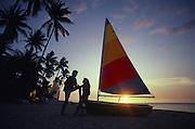Sunset, Maolololailai Island, Fiji<br />