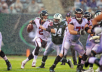 Matt Ryan during a NFL game between the Atlanta Falcons and the New York Jets   at Metlife Stadium , in Meadowlands  ,NY on 10.29.17.<br /> ( Photo/Tom DiPace)