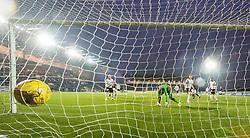 Falkirk's Lee Miller's first goal. Falkirk 3 v 1 St Mirren, Scottish Championship game played 3/12/2016 at The Falkirk Stadium .