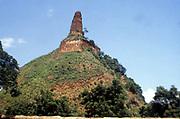 Sri Lanka  -  Stupa, Buddhist shrine, Abeygyriya.