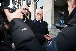 © Licensed to London News Pictures. 06/02/2018. London, UK. PHILIP GREEN, former chairman of Carillion, leaves Portcullis house in London where former bosses of the outsourcing firm Carillion have given evidence to a Business, Energy and Industrial Strategy Committee and the Work and Pensions Committe. Carillion plc, a major government contractor, went in to administration in January 2018. Photo credit: Ben Cawthra/LNP