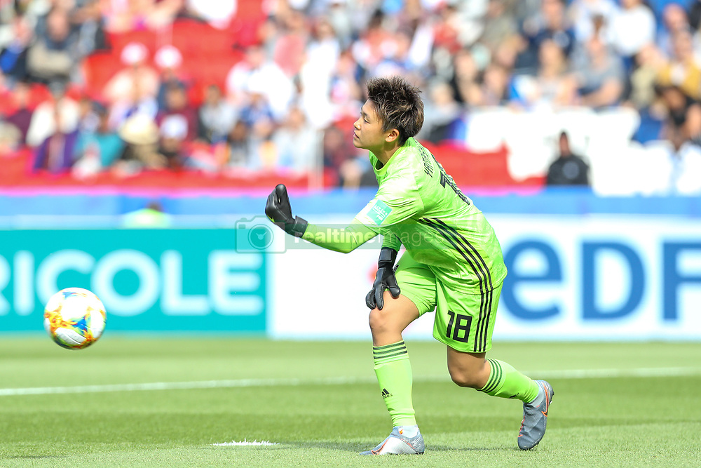 June 10, 2019: Paris, France: Yamashita  of Japan during match against Argentina game valid for group D of the first phase of the Women's Soccer World Cup in the Parc Des Princes in Paris in France on Monday, 10. (Credit Image: © Vanessa Carvalho/ZUMA Wire)