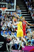 DESCRIZIONE : Basketball Jeux Olympiques Londres Demi finale<br /> GIOCATORE : Snell Belinda AUS Moore Maya USA<br /> SQUADRA : AUSTRALIE Femme<br /> EVENTO : Jeux Olympiques<br /> GARA : USA AUSTRALIE<br /> DATA : 09 08 2012<br /> CATEGORIA : Basketball Jeux Olympiques<br /> SPORT : Basketball<br /> AUTORE : JF Molliere <br /> Galleria : France JEUX OLYMPIQUES 2012 Action<br /> Fotonotizia : Jeux Olympiques Londres demi Finale Greenwich Arena<br /> Predefinita :