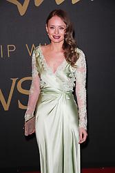 Laura Haddock, The British Fashion Awards 2014, The London Coliseum, London UK, 01 December 2014, Photo By Brett D. Cove © Licensed to London News Pictures. 02/12/2014. Brett D Cove/PIQ/LNP
