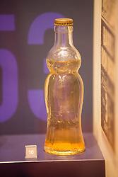 Barr Ba-Bru Design 6 fl.oz Crown Cork Bottle 1948. Robin Barr and Jonathan Kemp (Commercial Director) at A. G. Barr, who are planning an announcement next week regarding Irn Bru glass bottles.
