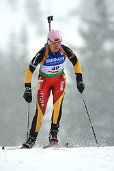 Diana Rasimoviciute (LTU) at Women 15 km Individual at E.ON Ruhrgas IBU World Cup Biathlon in Hochfilzen (replacement Pokljuka), on December 18, 2008, in Hochfilzen, Austria. (Photo by Vid Ponikvar / Sportida)