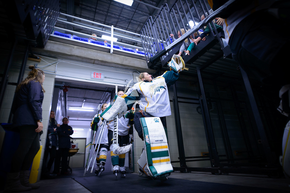 Women's Hockey home game on October 8 at Co-operators arena. Credit: Arthur Ward/Arthur Images