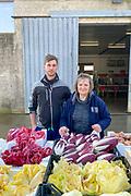 Nicola Rosato and his mom