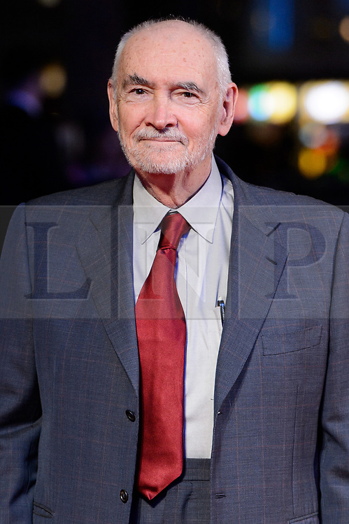 © Licensed to London News Pictures. 11/10/2017. London, UK. RICHARD G. WILSON attends the European film premiere of Stars Don't Die In Liverpool showing as part of the 51st BFI London Film Festival. Photo credit: Ray Tang/LNP