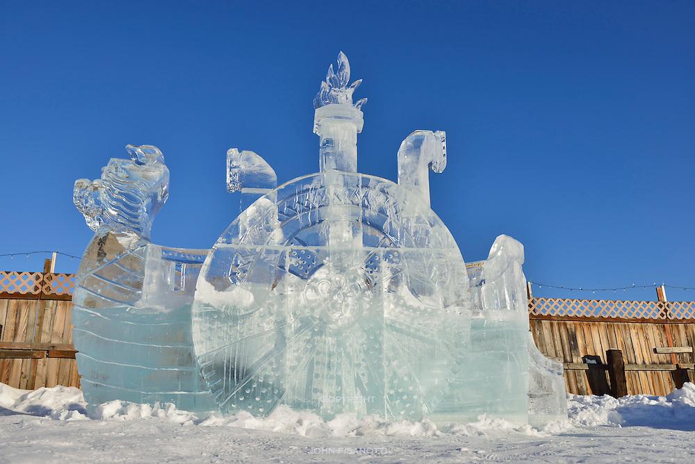 International Ice Carving Championships, Fairbanks Alaska