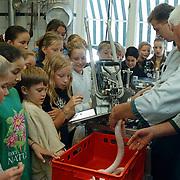 Leerlingen Beatrixschool bezoeken slagerij Meeuwissen