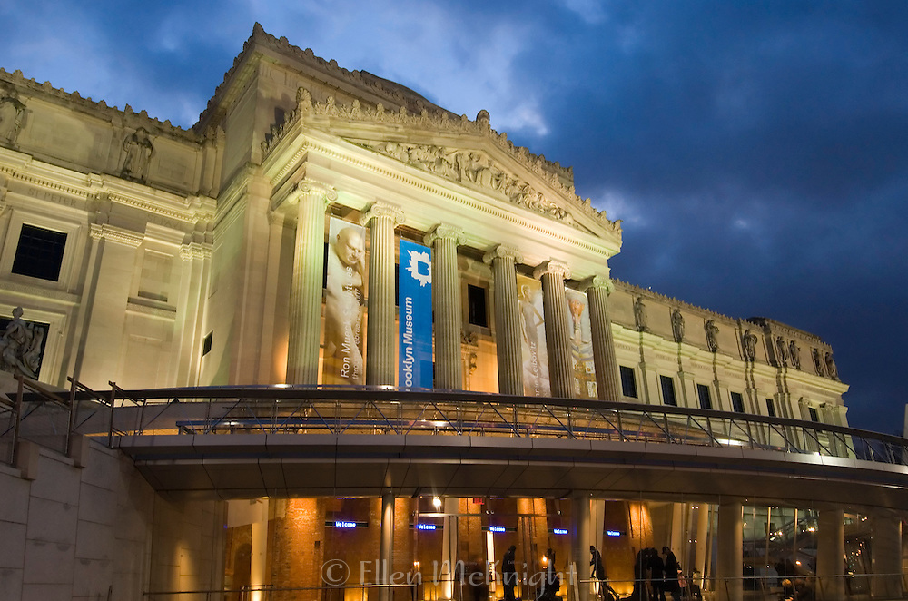 The Brooklyn Museum at Twilight