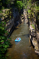 Raft float adventure, Ausable Chasm, New York