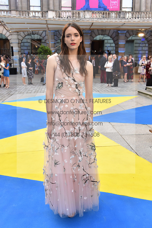Stacy Martin at the Royal Academy Of Arts Summer Exhibition Preview Party 2018 held at The Royal Academy, Burlington House, Piccadilly, London, England. 06 June 2018.