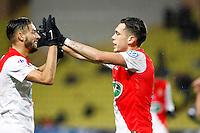 Joie Monaco - Lucas Ocampos / Yannick Ferreira Carrasco - 21.01.2015 - Monaco / Evian Thonon - Coupe de France <br />Photo : Sebastien Nogier / Icon Sport