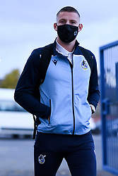Alfie Kilgour of Bristol Rovers arrives at Memorial Stadium prior to kick off - Mandatory by-line: Ryan Hiscott/JMP - 03/11/2020 - FOOTBALL - Memorial Stadium - Bristol, England - Bristol Rovers v Peterborough United - Sky Bet League One