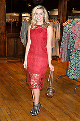 LARISSA EDDIE at an exclusive out of hours shopping evening 'Gifts for Goddesses' hosted by Mollie King in aid of mothers2mothers held at Liberty, Regent Street, London on 2nd March 2016.