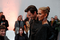 Close friends Celine Dion and Pepe Munoz attend the Alexandre Vauthier Haute Couture Spring Summer 2019 show as part of Paris Fashion Week on January 22, 2019 in Paris, France. Photo by Kendrick/ABACAPRESS.COM