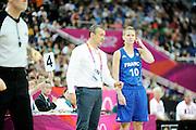 DESCRIZIONE : Basketball Jeux Olympiques Londres Demi finale<br /> GIOCATORE : Lepron Florence Vincent Pierre Coach<br /> SQUADRA : France  FEMME<br /> EVENTO : Jeux Olympiques<br /> GARA : France Russie<br /> DATA : 09 08 2012<br /> CATEGORIA : Basketball Jeux Olympiques<br /> SPORT : Basketball<br /> AUTORE : JF Molliere <br /> Galleria : France JEUX OLYMPIQUES 2012 Action<br /> Fotonotizia : Jeux Olympiques Londres demi Finale Greenwich Northwest Arena<br /> Predefinita :