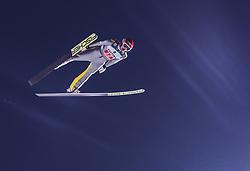 30.12.2018, Schattenbergschanze, Oberstdorf, GER, FIS Weltcup Skisprung, Vierschanzentournee, Oberstdorf, 1. Wertungsdurchgang, im Bild Richard Freitag (GER) // Richard Freitag of Germany during his 1st Competition Jump for the Four Hills Tournament of FIS Ski Jumping World Cup at the Schattenbergschanze in Oberstdorf, Germany on 2018/12/30. EXPA Pictures © 2018, PhotoCredit: EXPA/ JFK