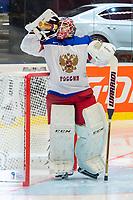 Ishockey<br /> VM 2015<br /> Russland v Norge 6:2<br /> 01.05.2015<br /> Foto: imago/Digitalsport<br /> NORWAY ONLY<br /> <br /> Goalie Sergei Bobrovski (RUS)